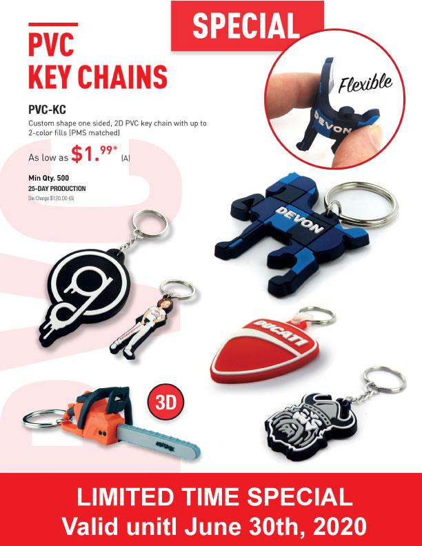 porte-clés pvc